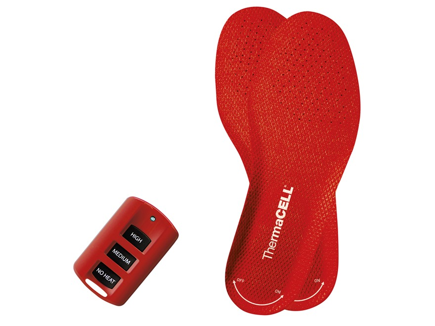 ThermaCell Remote Heated Insoles XL (9.5-11 Men, 10.5-12 Women)