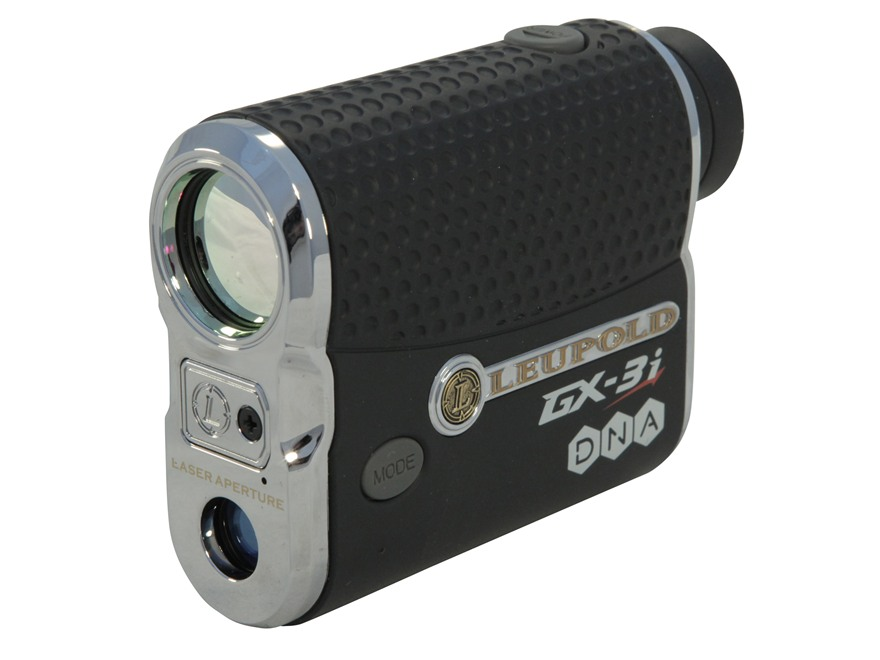 Leupold GX-3i Golf Laser Rangefinder 800 Yard 6x Black Factory Second