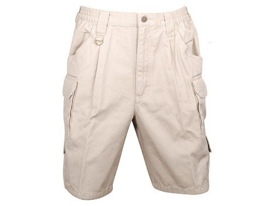 "Woolrich Elite Tactical Shorts Cotton Canvas Khaki 34"" Waist"