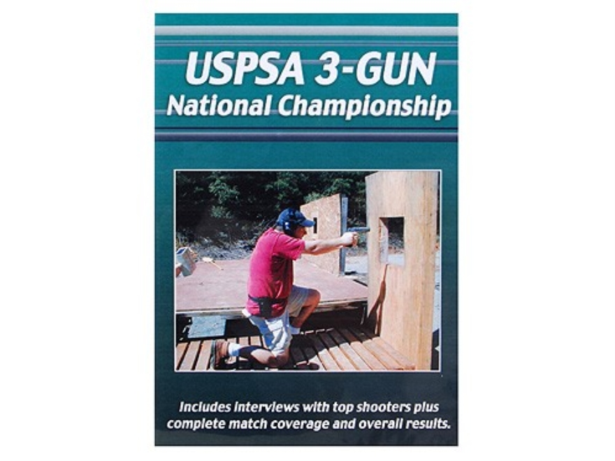 "Gun Video ""USPSA 3-Gun National Competition"" DVD"