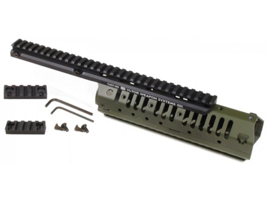 Vltor CASV-MX Free Float Modular Rail Handguard AR-15 Mid ...