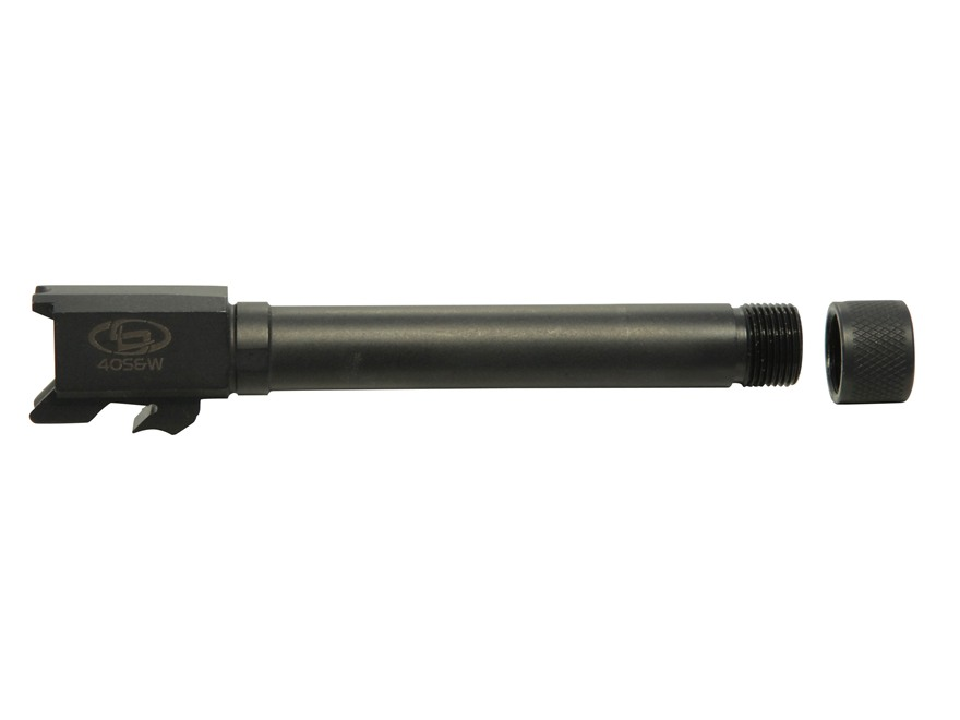 "Storm Lake Barrel S&W M&P Full Size 40 S&W 1 in 16"" Twist 4.95"" Stainless Steel 9/16""-24 Threaded Muzzle with Thread Protector"