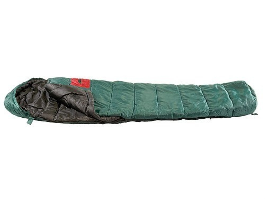 "Texsport Cold Creek 0 Degree Mummy Sleeping Bag 33"" x 90"" x 24"" Polyester Forest Green"