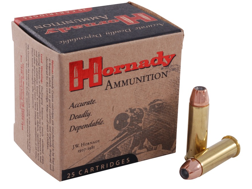 Hornady Custom Ammunition 38 Special 125 Grain XTP Jacketed Hollow Point Box of 25