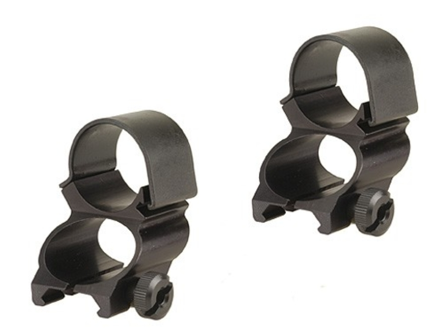 """Weaver 1"""" See-Thru Weaver-Style Rings"""