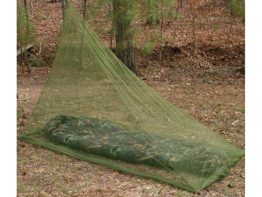 Snugpak Backpacker Mosquito Net Olive Drab
