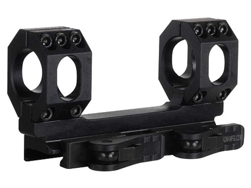American Defense Recon-S Quick-Release Scope Mount Picatinny-Style AR-15 Flat-Top Matte