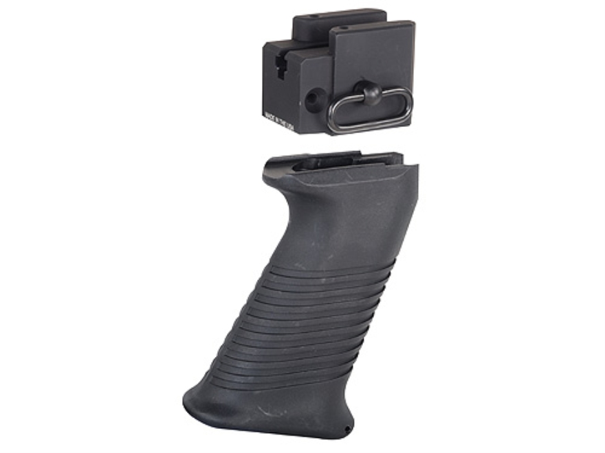 ACE Modular Receiver Block with Pistol Grip Saiga AK-47, AK-74 Rifles, Saiga 12 Gauge Black