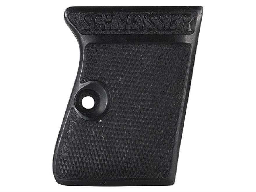 Vintage Gun Grips Haenel Schmeisser Model 2 25 ACP Polymer Black