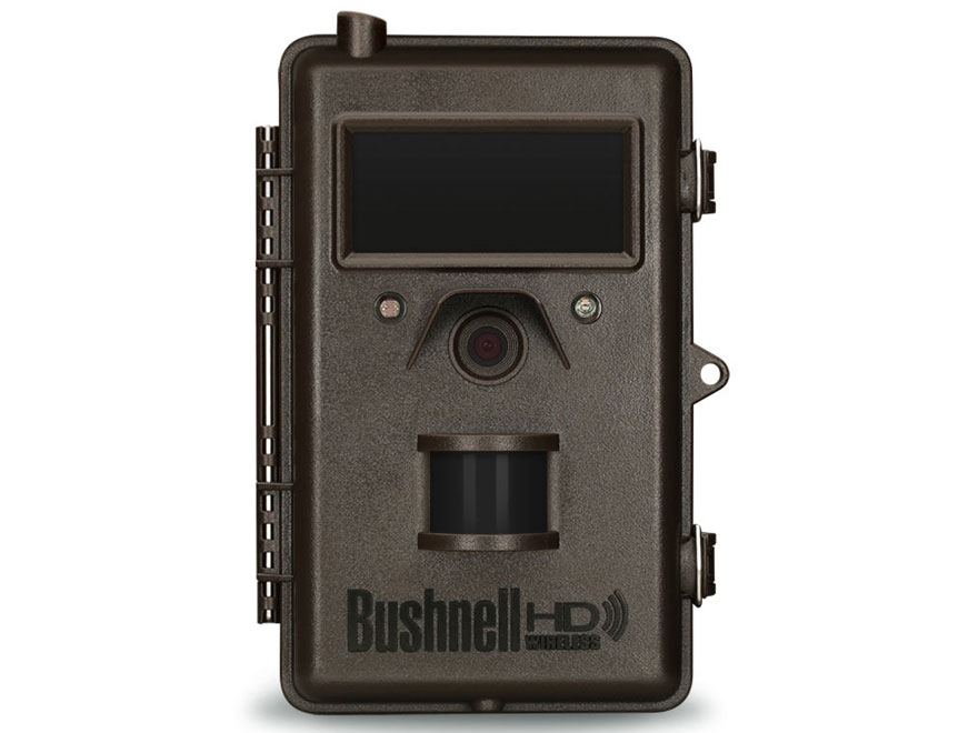 Bushnell Trophy Cam HD Wireless Cellular Black Flash Infrared Game Camera 8 MP with Viewing Screen Brown