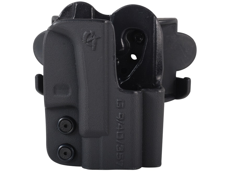 Comp-Tac International Belt Slide Holster Right Hand Glock G1 Glock 17, 19, 22, 23, 26, 27, 33, 34, 35