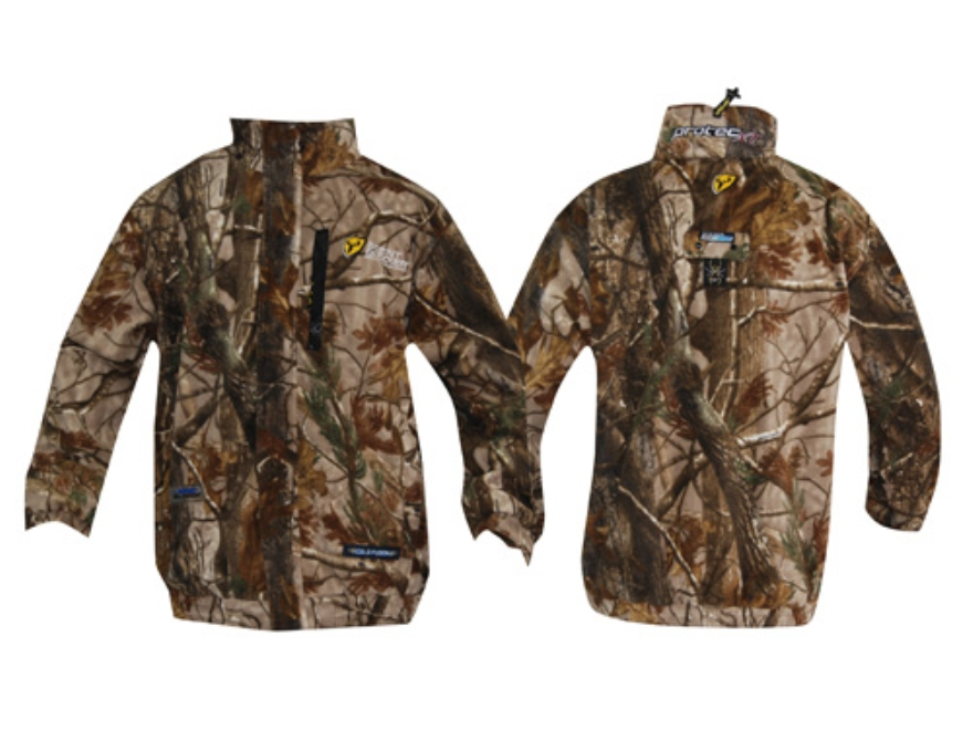 ScentBlocker Men's Protec XT Fleece Jacket Polyester Realtree AP Camo 2XL 50-52