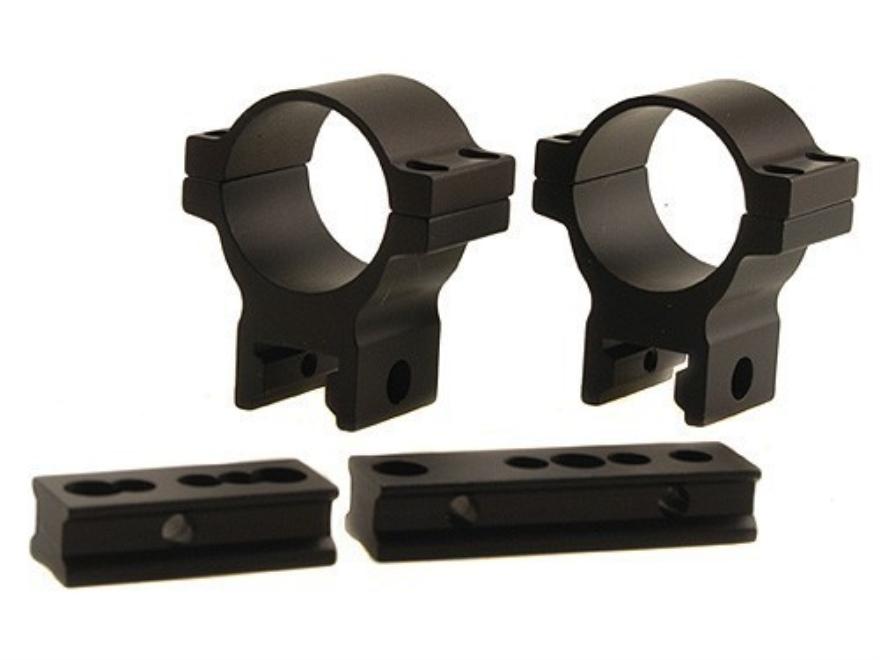 "Thompson Center Gorilla Grip Universal Black Powder Scope Base with 1"" Rings Gloss Medium"
