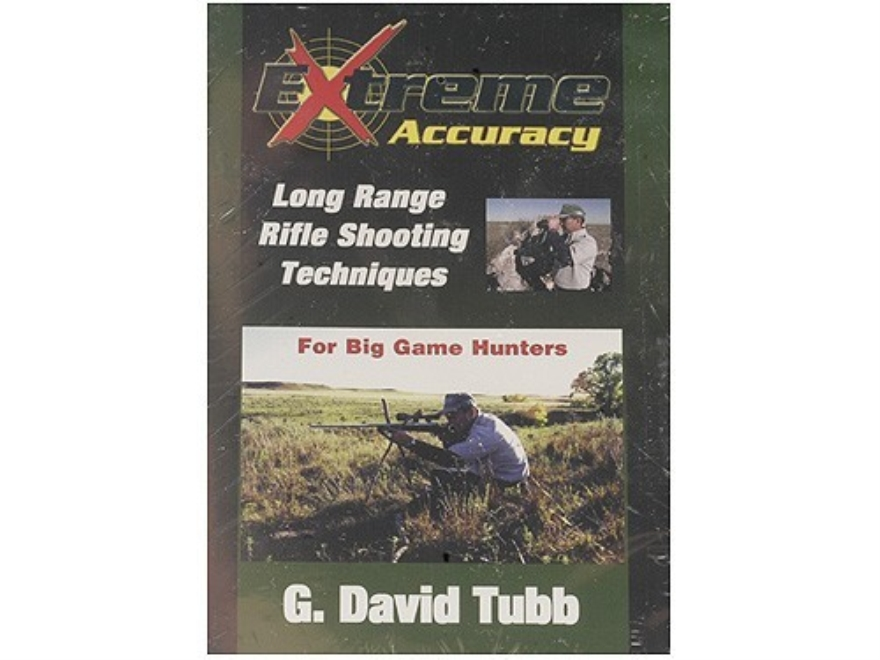 "Gun Video ""Extreme Accuracy: Long Range Rifle Shooting Techniques for Big Game Hunters with G. David Tubb"" DVD"