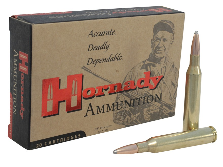 Hornady Custom Ammunition 25-06 Remington 117 Grain InterLock Spire Point Boat Tail Box...