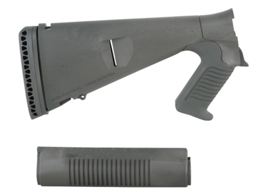Mesa Tactical Urbino Tactical Stock and Forend Benelli M4 12 Gauge Synthetic OD Green