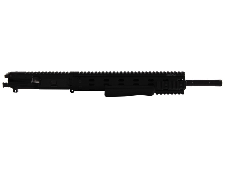 "Ambush Firearms AR-15 Flat-Top Upper Assembly 300 AAC Blackout 1 in 8"" Twist 16"" S2W Barrel Black Nitride Finish with MFR 12.0 Modular Rail Free Float Handguard, Shotgun Grip"