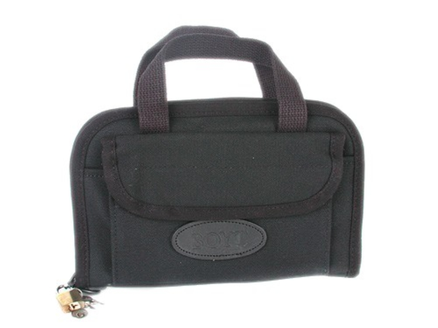 "Boyt Canvas Pistol Case 9"" Black"