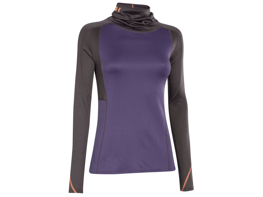 Under armour women 39 s coldgear infrared wool cozy neck base for Womens base layer shirt