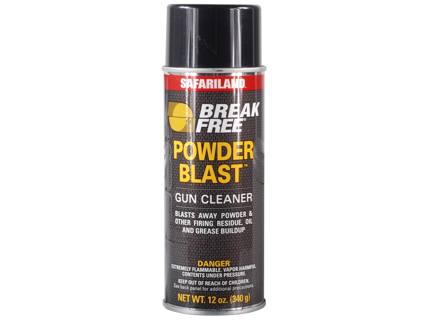 Break-Free Powder Blast Gun Cleaner-Degreaser 12 oz Aerosol