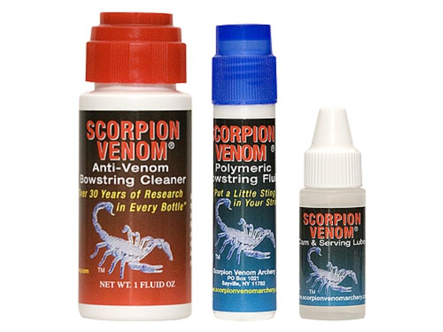 Scorpion Venom 3 Star Maintenance Kit Bow String Maintenance System