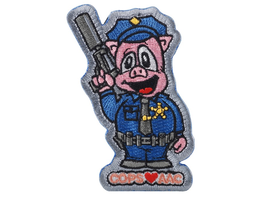 Advanced Armament Co (AAC) Silent Pig Patch Hook-&-Loop Fastener Blue