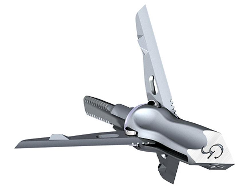 G5 T3 Mechanical Broadhead 100 Grain Stainless Steel Pack of 3