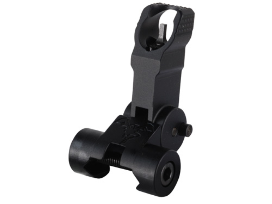 DoubleStar Flip-Up Front Sight Gas Block Height AR-15, LR-308 Aluminum Matte