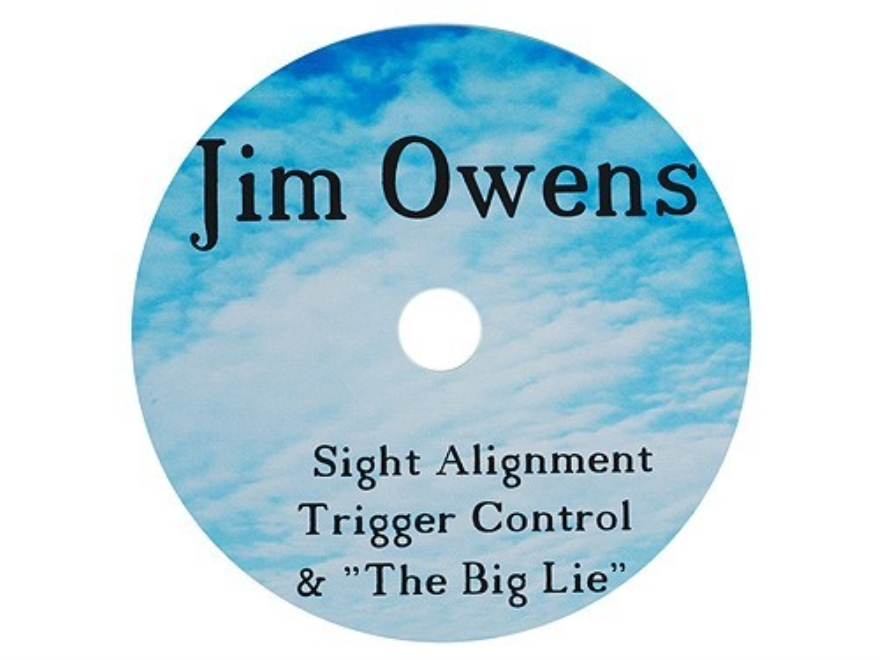 "Jim Owens ""Sight Alignment, Trigger Control and The Big Lie"" CD-ROM"