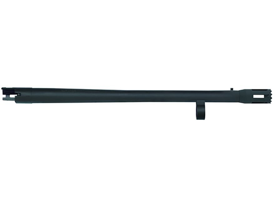 "Mossberg Barrel Remington 870 Special Purpose 12 Gauge 3"" 18-1/2"" Cylinder Bore with Bead Sight, Stand-Off Muzzle Brake Matte"