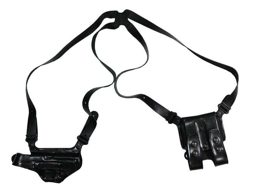 "Galco Miami Classic Shoulder Holster System Right Hand S&W M&P 3""-5"" Barrel 9mm, 40 S&W Leather"