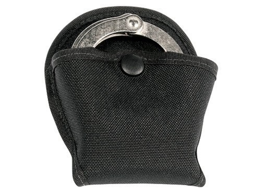 BlackHawk Open Handcuff Case for Vertical and Horizontal Shoulder Holster Nylon Black