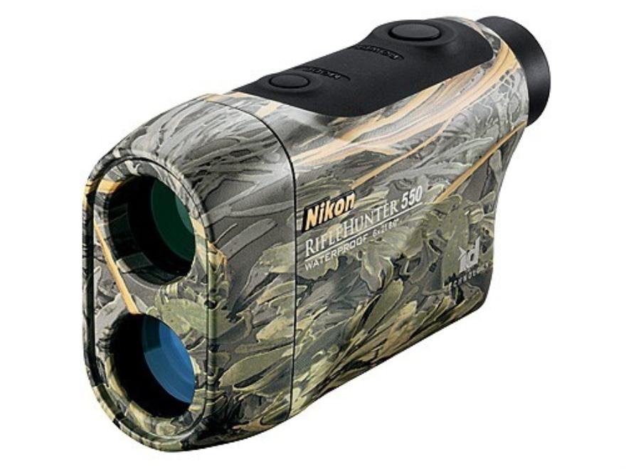Nikon RifleHunter 550 Laser Rangefinder 6x Max-1 Camo