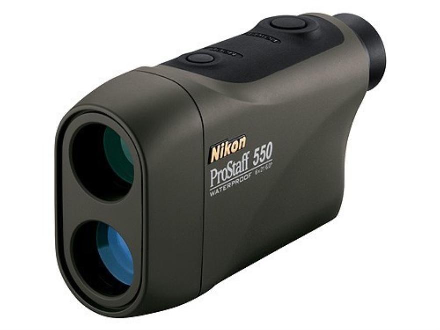 Nikon ProStaff 550 Laser Rangefinder 6x Black