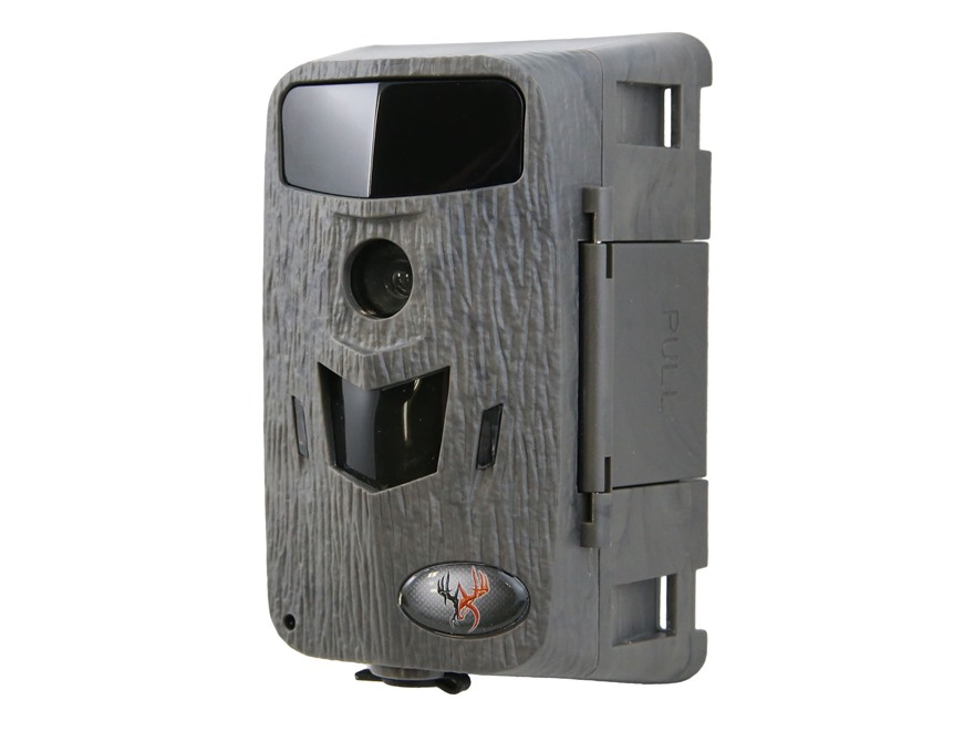 Wildgame Innovations Micro Crush 8 X Lightsout Black Flash Infrared Game Camera 8 Megapixel TRUbark