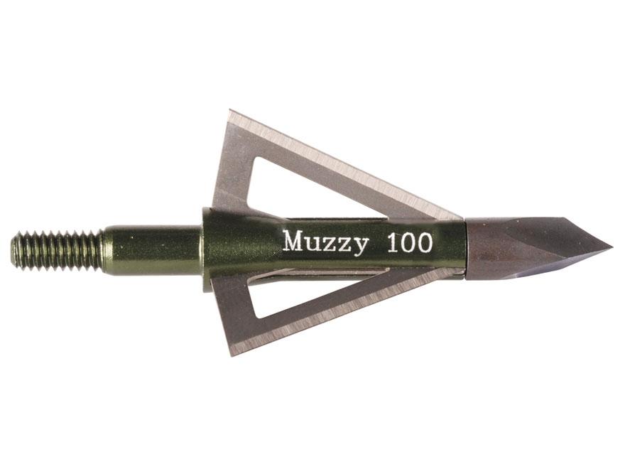 Muzzy Fixed Blade Broadhead Pack of 6
