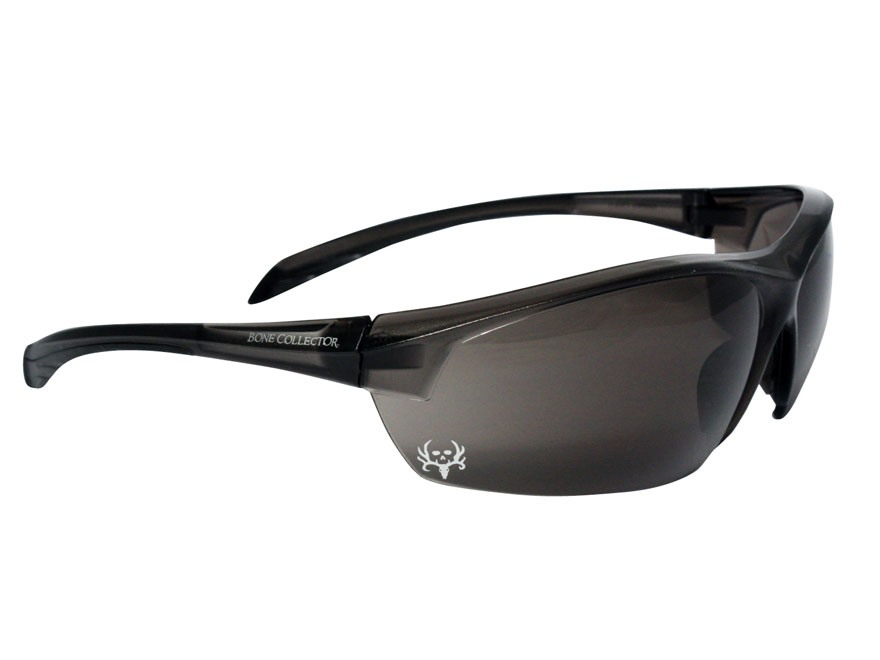 Bone Collector Centershot Shooting Glasses Smoke Lens