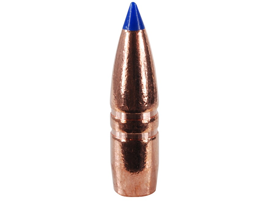 Barnes Tipped Triple-Shock X Bullets 22 Caliber (224 Diameter) 55 Grain Spitzer Boat Ta...