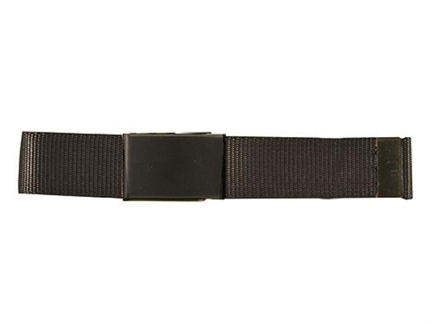 "The Outdoor Connection MaxBelt Belt 1-1/4"" Black Brass Buckle Nylon Black 54"""