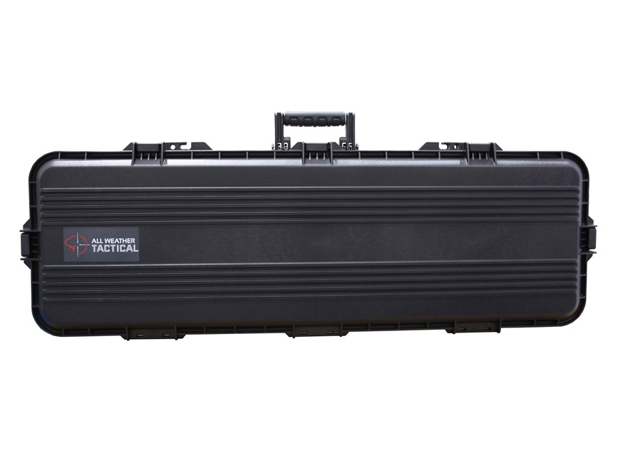 "Plano AW All Weather Series 42"" Tactical Rifle Case Polymer Black"