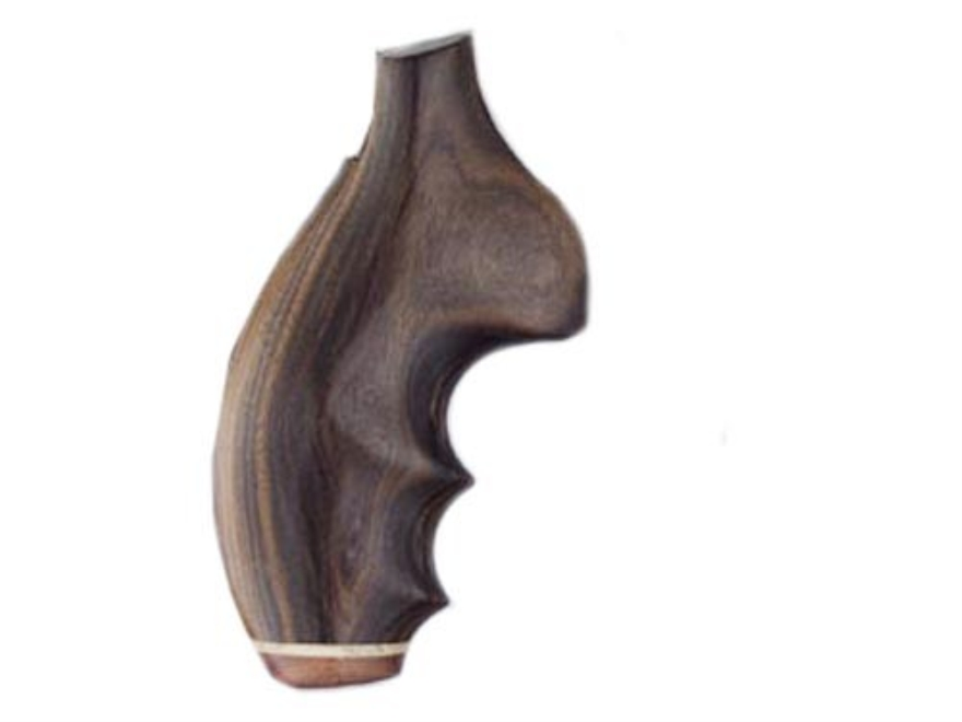 Hogue Fancy Hardwood Grips with Accent Stripe, Finger Grooves and Contrasting Butt Cap Taurus Small Frame