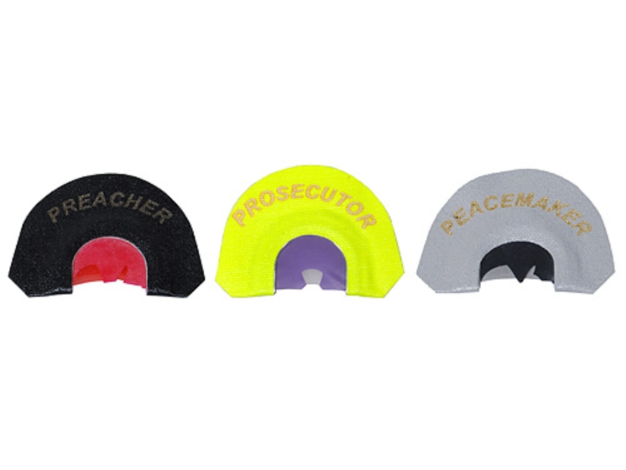 Knight & Hale Judgement Day Pro Pack Diaphragm Turkey Call Pack of 3
