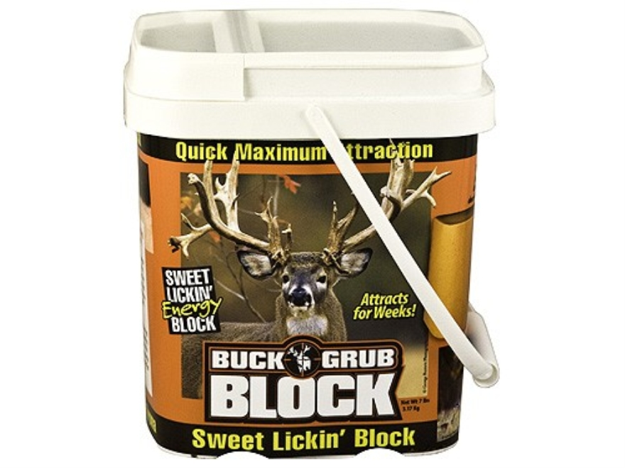 Evolved Habitats Buck Grub BLOCK Deer Attractant 4.5 lb