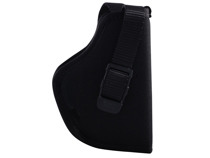 "GrovTec GT Belt Holster Right Hand with Thumb Break Size 16 for 3.25-3.75"" Barrel Medium and Large Frame Semi-Automatics Nylon Black"