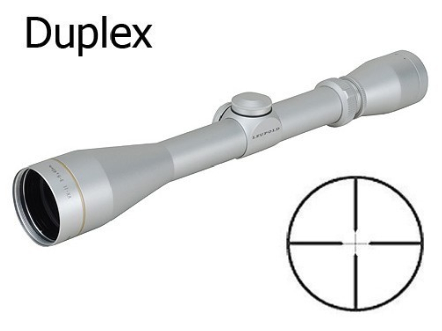 Leupold VX-II Rifle Scope 3-9x 40mm Duplex Reticle Silver Factory Second