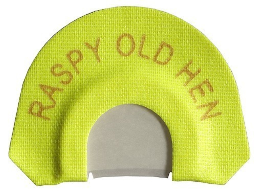H.S. Strut Premium Flex Raspy Old Hen Diaphragm Turkey Call