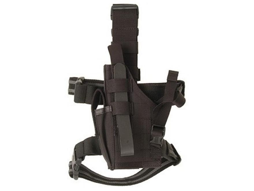 BlackHawk Omega 6 Elite Drop Leg Holster Glock 17, 19, 22, 23, 27, Sig P226, P228, S&W Sigma Nylon