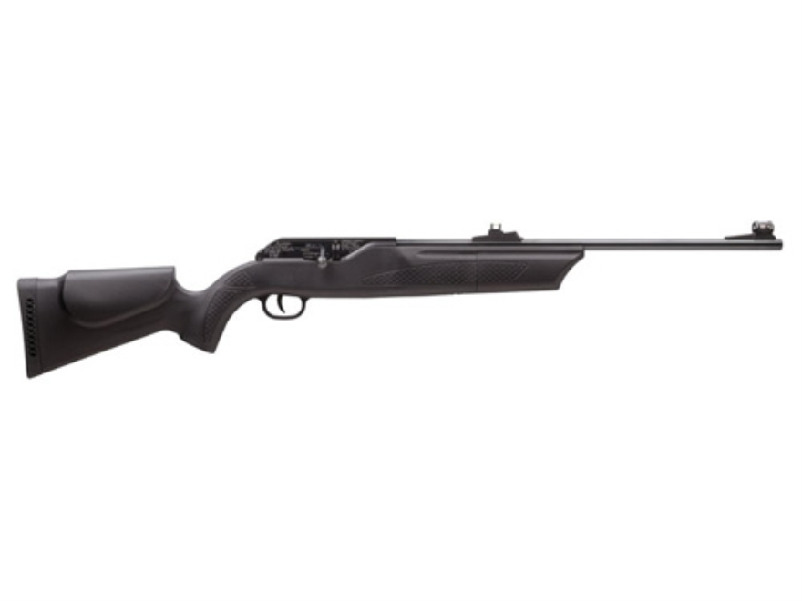 Hammerli 850 Pellet Air Magnum Air Rifle Black Polymer Stock Blued Barrel