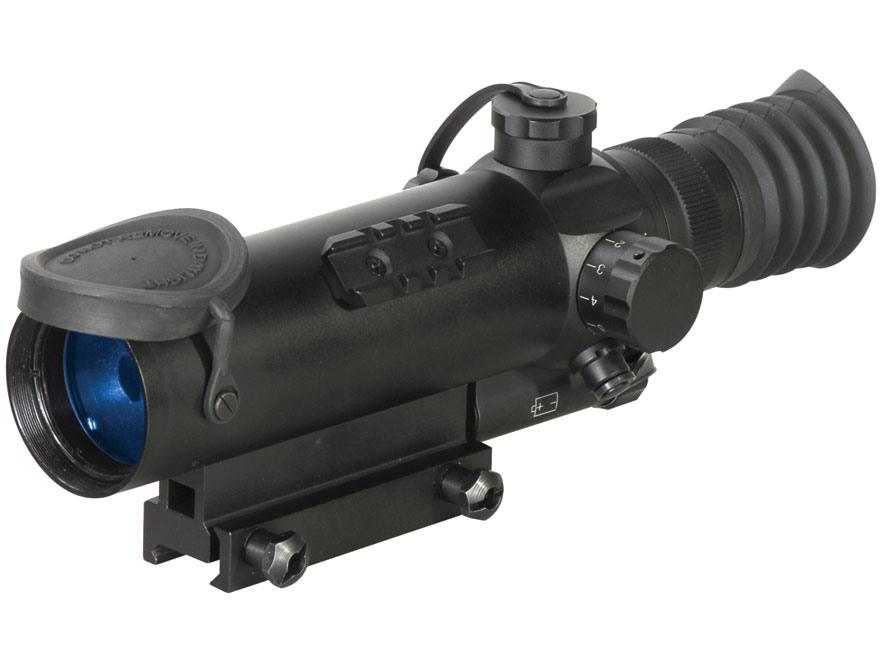 ATN Night Arrow 2-CGT Generation Night Vision Rifle Scope 2x Illuminated Red Duplex Ret...