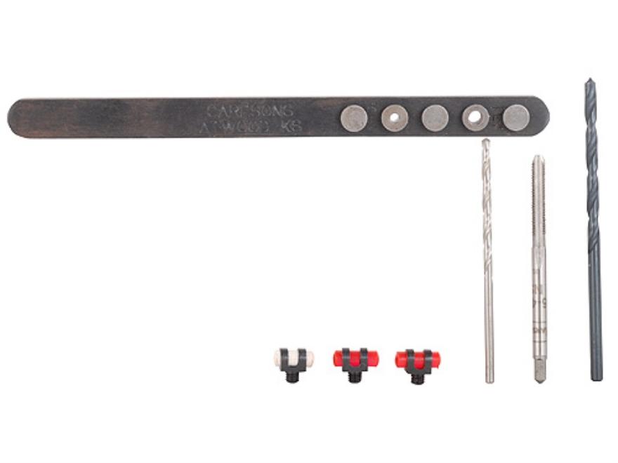 Carlson's Shotgun Vent Rib Sight Locator Tool Kit Steel Blue
